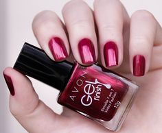 1 esmalte-avon-gel-finsih-vinho-fashion Avon Nail Polish, Avon Nails, Nail Polishes, Fall Manicure, Manicure At Home, Natural Manicure, Nail Jewelry, Nail Candy, Types Of Nails