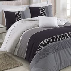 Bavlněné ložní povlečení Eifel standardní provedení Decor, Furniture, Comforters, Home, Bed