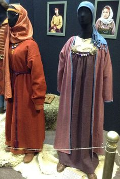 Clothes of wealthy women. Ukraine (Kievan Rus'). The 10th century. Reconstruction made by Anna Shapoval
