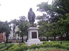 Benjamin Franklin, Lafayette Square Philadelphia