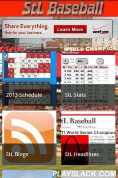 StL Baseball  Android App - playslack.com , The Best Cardinals Fan app just got better! StL Baseball THE best Fan app for you favorite Blogs and news sites about the St. Louis Cardinals and it now has STATS Powered by Baseball-Reference.com! Features: -Over 21 of the Best Blogs and News Sources such as: -Viva El Birdos - Gas House Graphs- The Redbirds Report -Aaron Miles' Fastball -C70 At The Bat -I70 Baseball -Cardinal Nation Blog -Pitchers Hit Eighth -Fungoes -El Maquino - StL Baseball…