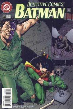 Robin - Two-face - Batman - Bill Sienkiewicz