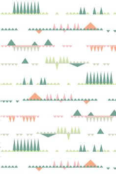 Object Patterns by Suz Sanchez, via Behance