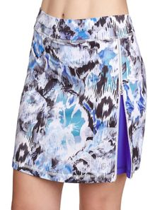 "Sofibella Ladies & Plus Size 18"" Pull On Golf Skorts - DREAMSCAPE (Mineral)"