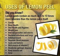 Image result for lemon peel benefits