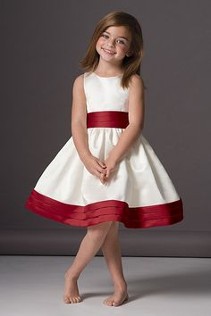 Cute flowergirl dress.  And you can customize the colors. Seeahorse DRESS 46248