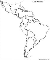 Latin America map | Homeschool Helps | Pinterest | America ...