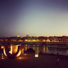 #Sevilla, el río #Guadalquivir y #Triana.