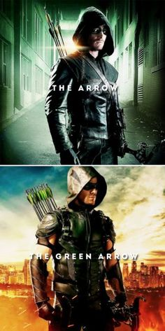 I had to be someone else. I had to be something else. #arrow