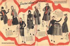 MARIE CLAIRE mag 1940-Gruau