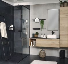 How to Finish Your Basement and Basement Remodeling – House Remodel HQ Zen Bathroom, Downstairs Bathroom, Modern Bathroom, Small Bathroom, Master Bathroom, Bathroom Showers, Bad Inspiration, Bathroom Inspiration, Small Toilet Room