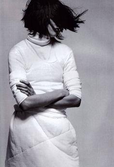 Jil Sander, American Vogue, October 1998.