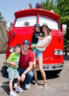 Gisele Bundchen and Tom Brady take kids to Disneyland