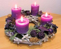 German Advent wreath (Adventskranz)                                                                                                                                                                                 More