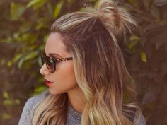 The Half Top Knot