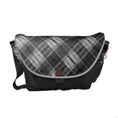 pattern commuter bag