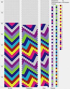 14 around tubular bead crochet rope pattern Crochet Bracelet Pattern, Loom Crochet, Bead Crochet Patterns, Beading Patterns Free, Bead Crochet Rope, Loom Patterns, Beading Tutorials, Crochet Beaded Bracelets, B 13