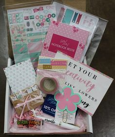 The Planner Addict Subscription Box Review - May 2016 - Check out our new review of the April 2016 The Planner Addict subscription box!