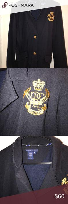 ⚡️FLASH SALE⚡️Ralph Lauren cardigan Xl Gorgeous Ralph Lauren cardigan .. navy blue with gold color buttons Ralph Lauren Sweaters Cardigans
