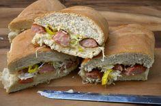 Banjo Picker Sandwich from Southern Plate