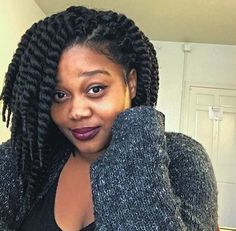 These Marley Twists Are Gorgeous @jalia_shana - http://community.blackhairinformation.com/hairstyle-gallery/braids-twists/marley-twists-gorgeous-jalia_shana/