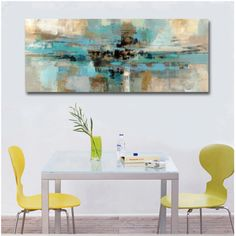 Modern Abstract Wide Format Wall Art Contemporary Fine Art Canvas Prints Subtle Color Pictures For Bedroom Living Room Home Interior Decor Living Room Pictures, Wall Art Pictures, Pictures To Paint, Wall Art Decor, Wall Art Prints, Canvas Prints, Scandinavian Home Interiors, Wall Art Designs, Abstract Wall Art