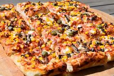 Kefir, Dessert Recipes, Desserts, Hawaiian Pizza, Vegetable Pizza, Bread, Vegetables, Food, Cooking
