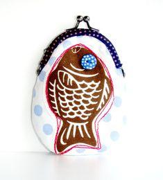Fish coin purse. #purse