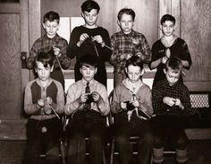 Emerson Elementary School boys (WWII)