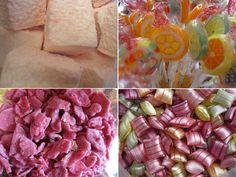 Des bonbons anciens pour mon candy bar