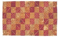 Nazca mantle fabric. Peru, 100-700 AD.  Museo Chileno de Arte Precolombino.