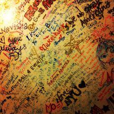 A desk full of memories