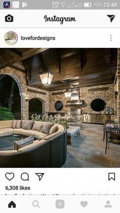 Is this the bomb or what? The perfect outdoor space! : Is this the bomb or what? The perfect outdoor space! Outdoor Kitchen Design, Patio Design, Exterior Design, Outdoor Kitchens, Patio Kitchen, Summer Kitchen, Kitchen Living, Outdoor Living Rooms, Outdoor Spaces