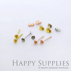 Nickel Free High Quality Stainless Steel Stud happysupplies