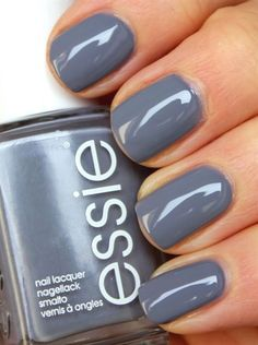Essie Petal Pushers - This is IT. I finally found my suitable grey!, Essie Petal Pushers - That is IT. I lastly discovered my appropriate gray! Essie Petal Pushers - That is IT. I lastly discovered my appropriate . Love Nails, Fun Nails, Pretty Nails, Gray Nails, Essie Petal Pushers, Manicure E Pedicure, Manicure Colors, Pedicures, Nail Polishes