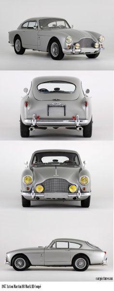 1957 Aston Martin DB Mark III Coupé I will take one -thank you @TheDailyBasics LUVS!