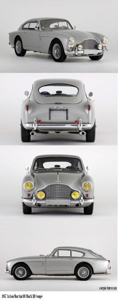 1957 Aston Martin DB Mark III Coupé I will take one -thank you @TheDailyBasics LUVS!