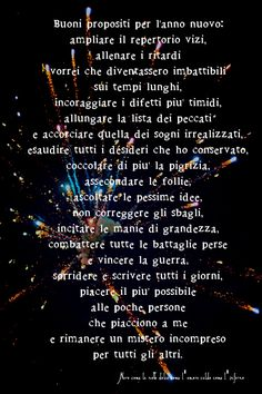 Nero come la notte dolce come l'amore caldo come l'inferno: Buoni propositi per l'anno nuovo: ampliare il repe...