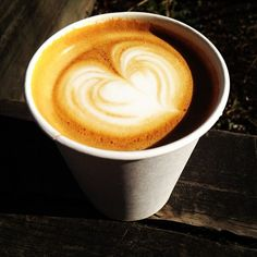 enjoyed a delicious cappuccino from @TobysBrooklyn on a crisp monday. you should too!
