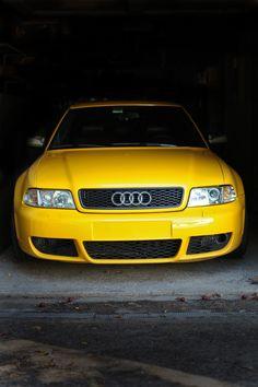 RS4 front bumper.
