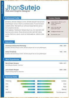 cv resume template online resume templatefree creative