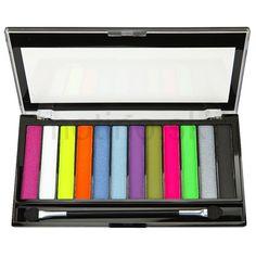 Makeup Revolution Acid Brights paleta očných tieňov 1