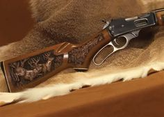 Do you think the lever-action is obsolete. What are your thoughts on Lever-action rifles? Rifle Stock, Lever Action Rifles, Wood Carving Designs, Gun Art, Shooting Guns, Hunting Rifles, Firearms, Shotguns, Cool Guns