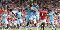 El City de Guardiola somete al United de Mourinho en el trepidante derbi de Manchester