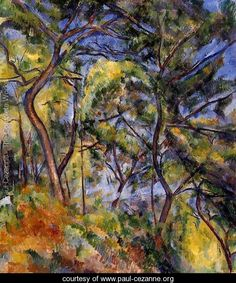 Forest by Cezanne