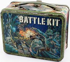 1965 Battle Kit Lunch Box