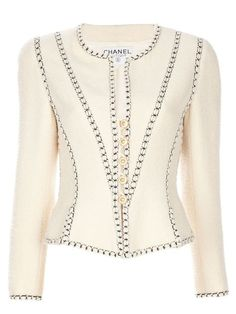 Chanel Vintage шерстяной пиджак
