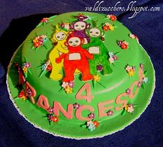 teletubbies Birthday Cake, Cakes, My Favorite Things, Desserts, Food, Design, Tailgate Desserts, Scan Bran Cake, Birthday Cakes