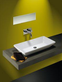 Sign 800mm x 400mm Counter Top Ceramic Wash Basin - ABL Tile Centre