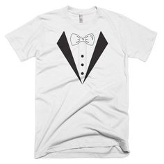 Tuxedo Short Sleeve Men's T-shirt